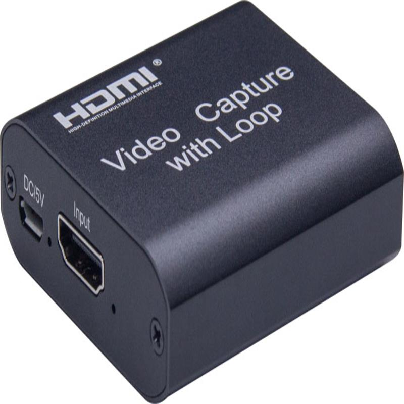 Captura de video HDMI V1.4 con salida de bucle HDMI